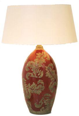 Holländer 057 K 1210 Tischleuchte Toulouse Keramik Glasiert Schwarz-Schlamm